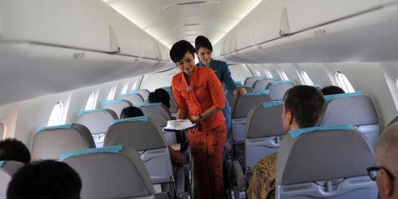 Ilustrasi kabin Garuda Indonesia