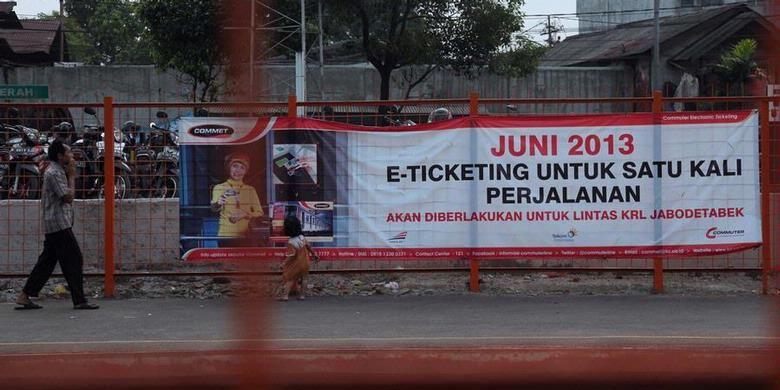 NUT- Sosialisasi E-Tiket KRL