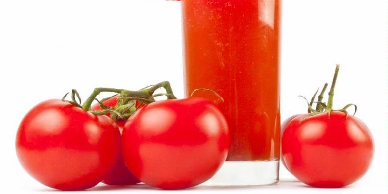Ilustrasi tomat.