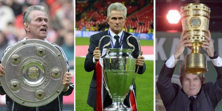 Pelatih Jupp Heynckes sukses memberikan tiga gelar bagi Bayern Muenchen yakni Bundesliga 1, Liga Champions, dan DFB Pokal.