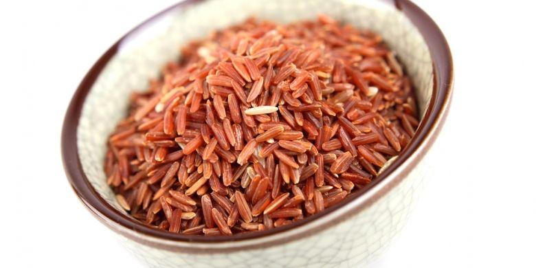 Ilustrasi beras merah