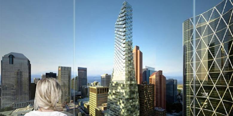 Selain perkantoran, dalam TELUS Sky Tower akan terdapat ruang ritel dan sejumlah 341 unit apartemen sewa.