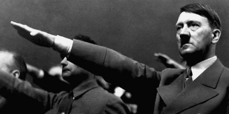 Diktator Jerman, Adolf Hitler.
