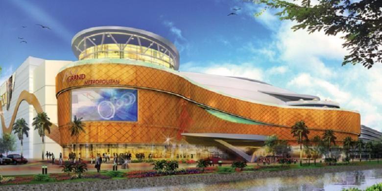 Salah satu aset Metropolitan Land (MTLA), Grand Metropolitan Bekasi, sebagai sumber pendapatan berulang.