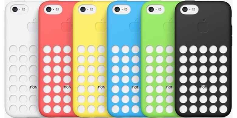 Pilihan warna caisng iPhone 5C