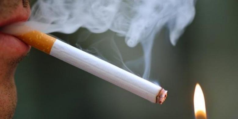 Ilustrasi merokok
