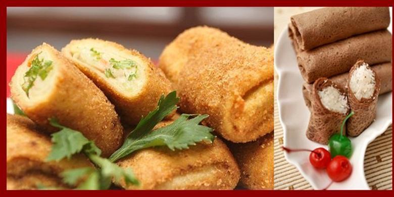Contoh hidangan dari tepung sukun.