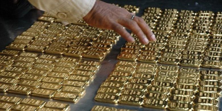 Produksi Emas Dunia Merosot Kompascom