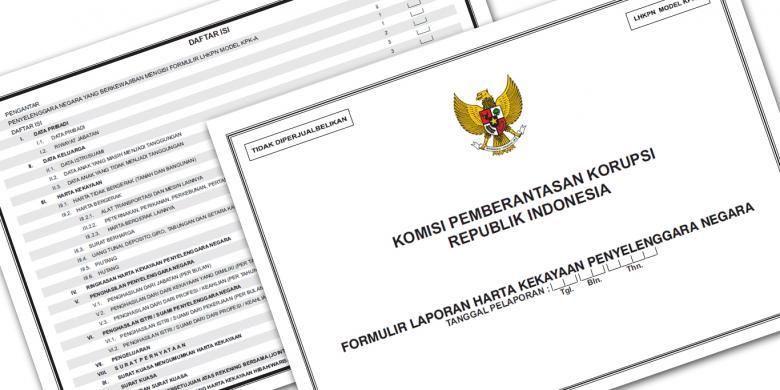 Formulir Laporan Harta Kekayaan Penyelenggara Negara