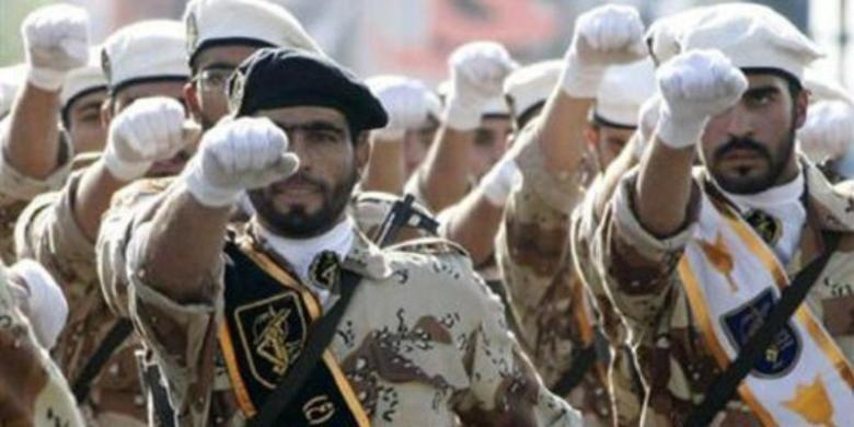 Pasukan Garda Revolusi Iran.