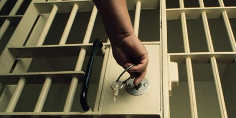 Ilustrasi penjara.