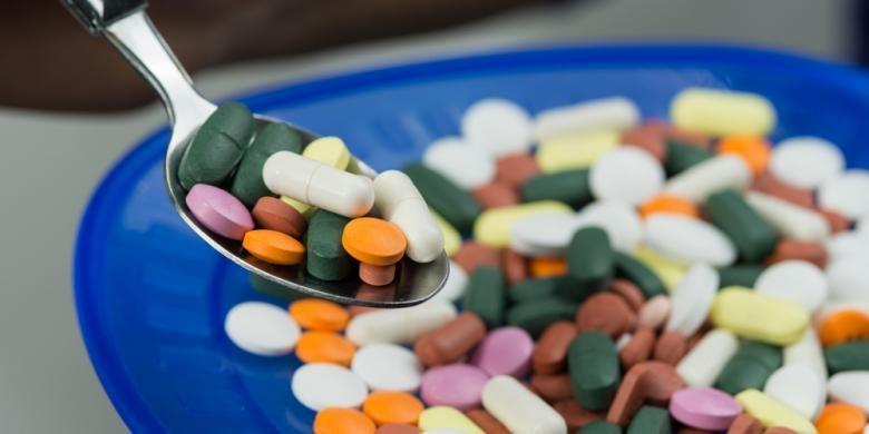 Ilustrasi obat-obatan