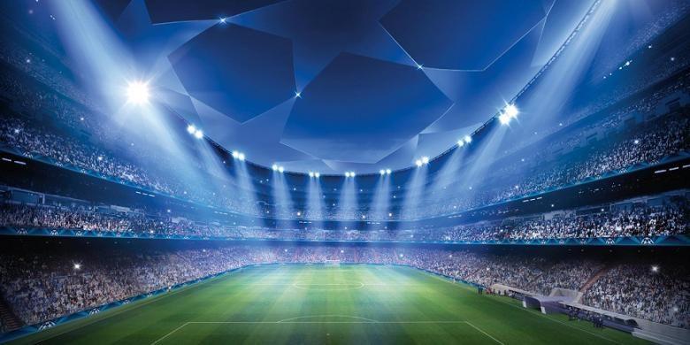 Logo Liga Champions.