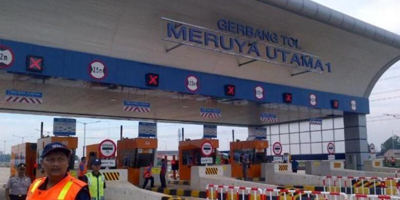 Tol JORRW2 ruas Kebon Jeruk sampai Ciledug.