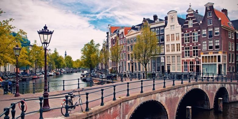 Kota Amsterdam, Belanda.
