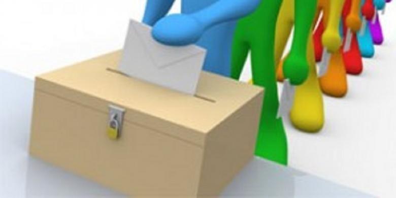 ilustrasi pemilu