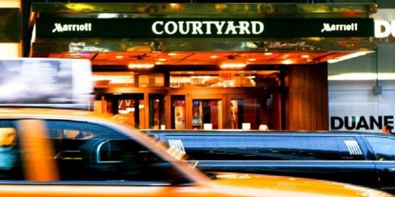 Courtyard Marriott Hotel, New York.