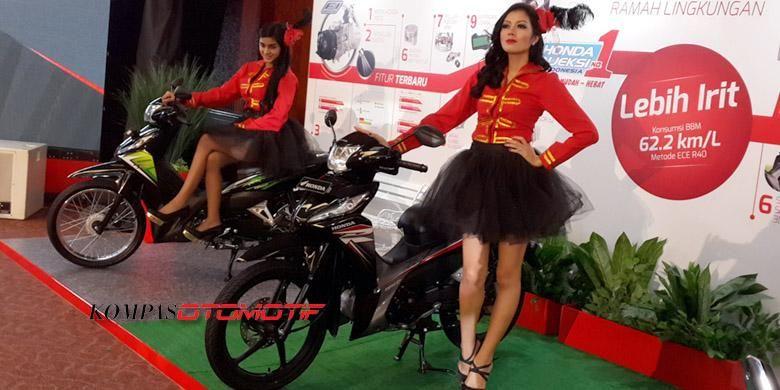 Sepeda motor bebek terbaru Honda dengan sistem injeksi,