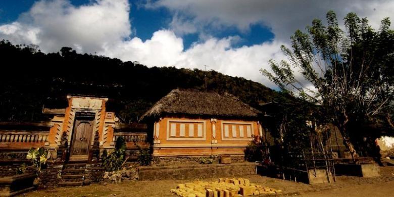 Desa Tenganan di Kabupaten Karangasem, Bali.