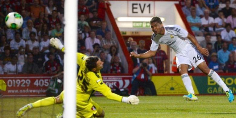 Gelandang Real Madrid, Casemiro.