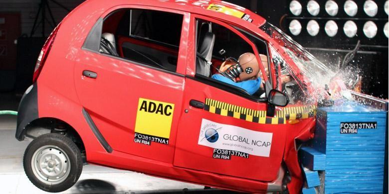 Tata Nano gagal di Euro NCAP
