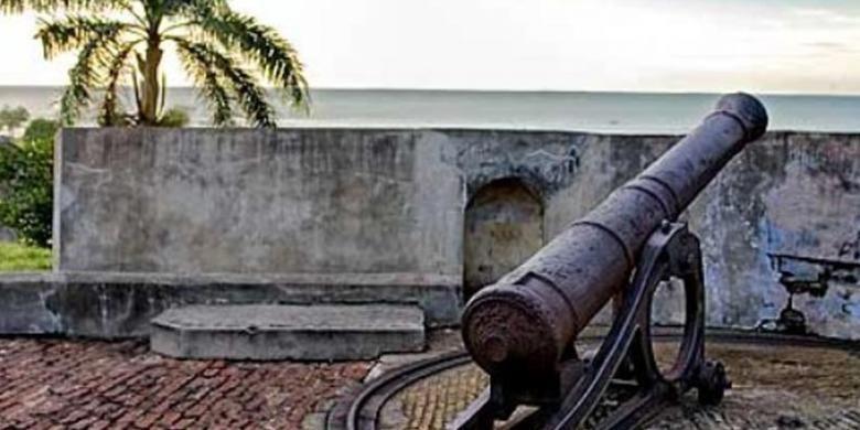 Benteng Marlborough di Bengkulu.