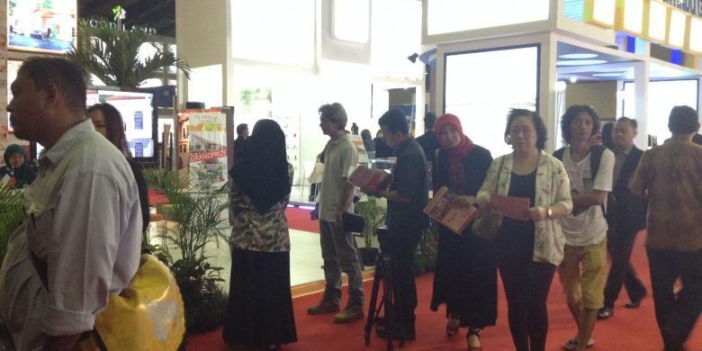 Ilustrasi. Pameran rumah rakyat 2014.
