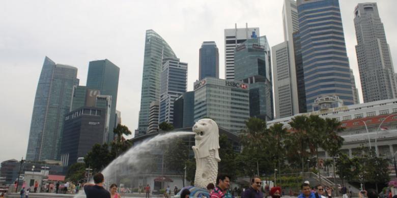 Merlion, Singapura.