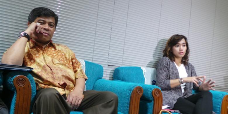 Wakil Ketua Komisi IX Supriyatno (Gerindra) dan Nova Riyanti Yusuf (Demokrat).