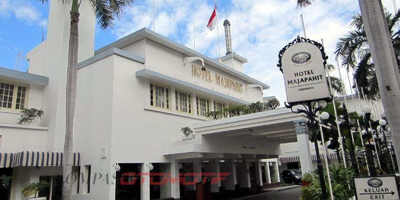 Hotel Majapahit dulunya bernama Hotel Oranje dan diubah jadi Yamato.