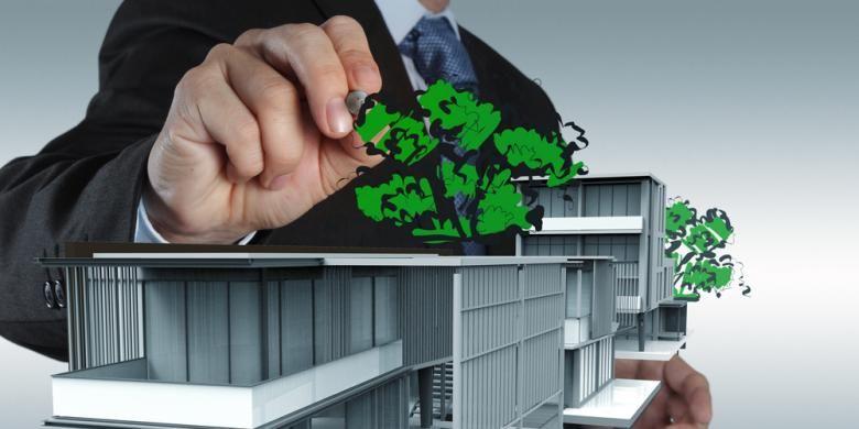 Green building butuh investasi lebih tinggi ketimbang pembangunan konvensional.