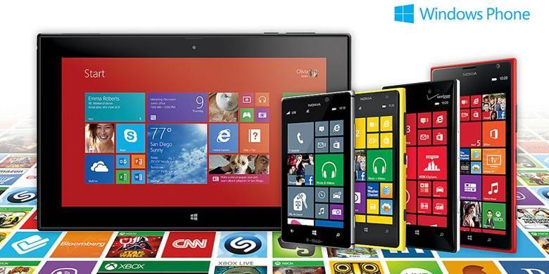Aplikasi dalam Windows Phone