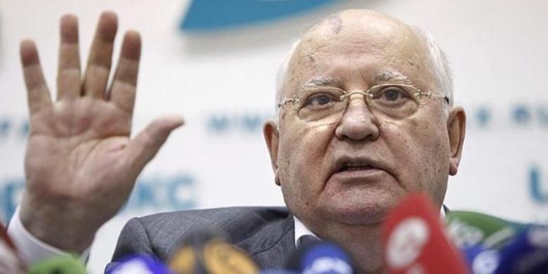Mantan pemimpin Uni Soviet, Mikhail Gorbachev.