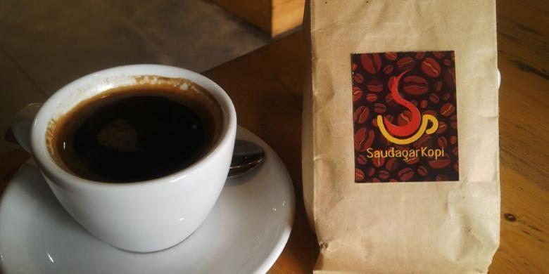 Kopi Toraja bagi pecinta kopi di Saudagar Kopi.