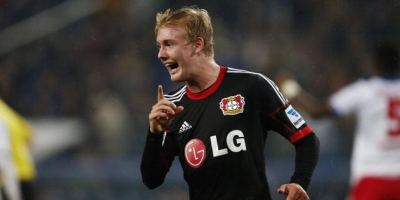 Gelandang Bayer Leverkusen, Julian Brandt.