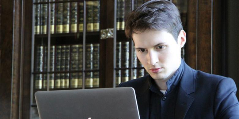 Pendiri jejaring sosial VKontakte asal Rusia, Pavel Durov