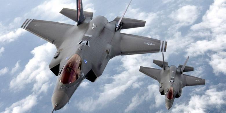 Pesawat tempur F-35 buatan Lockheed Martin Corp.