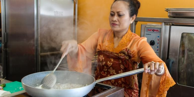 Aneka makanan Indonesia disajikan dalam Taste of Amsterdam, festival kuliner yang berlangsung 15-18 Mei 2014 di Amstelpark Amsterdam, Belanda.