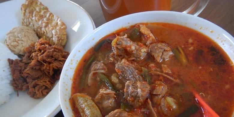 Jangan Kesrut, kuliner langka khas Banyuwangi, Jawa Timur.