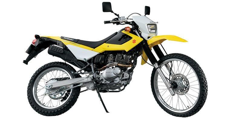 Suzuki DR200S tampil dengan desain baru yang lebih ideal.