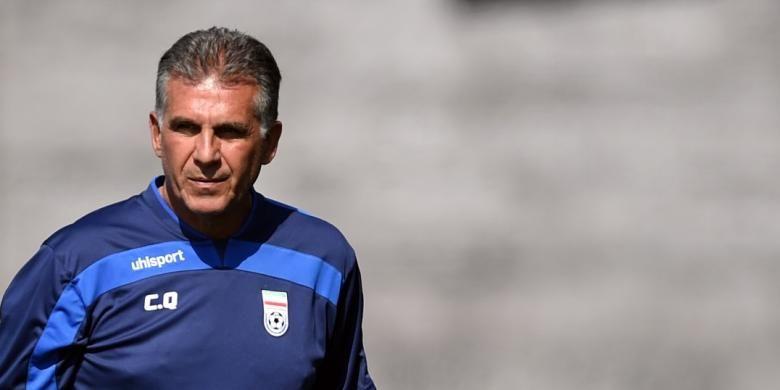 Carlos Queiroz semasa masih menangani tim nasional Iran.