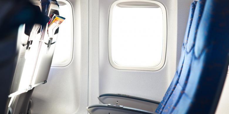 ILUSTRASI - Kabin pesawat