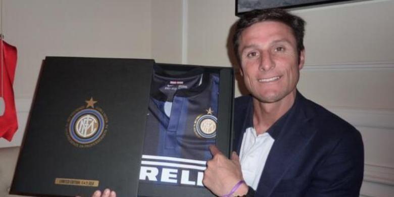 Wakil Presiden Inter Milan, Javier Zanetti.