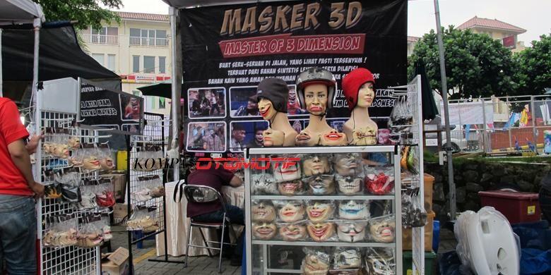Ragam masker yang dijual