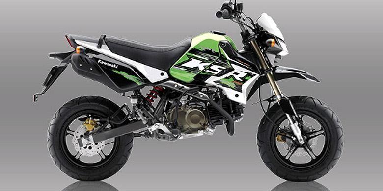 Kawasaki KSR Pro sudah dijual mendampingi KSR di segmen super sport mini.