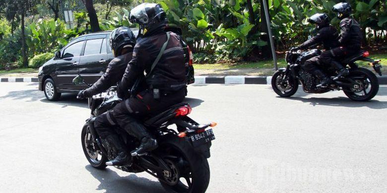 Yamaha FZ1 yang digunakan Paspampres
