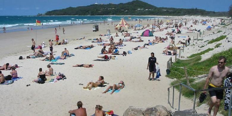 Pantai Byron Bay, Australia