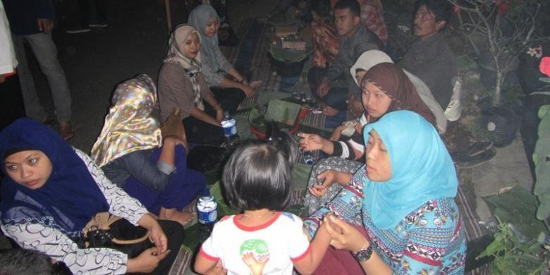 Tumpeng Sewu, salah satu tradisi unik Suku Using di Desa Kemiren, Kecamatan Glagah, Kabupaten Banyuwangi, Jawa Timur.