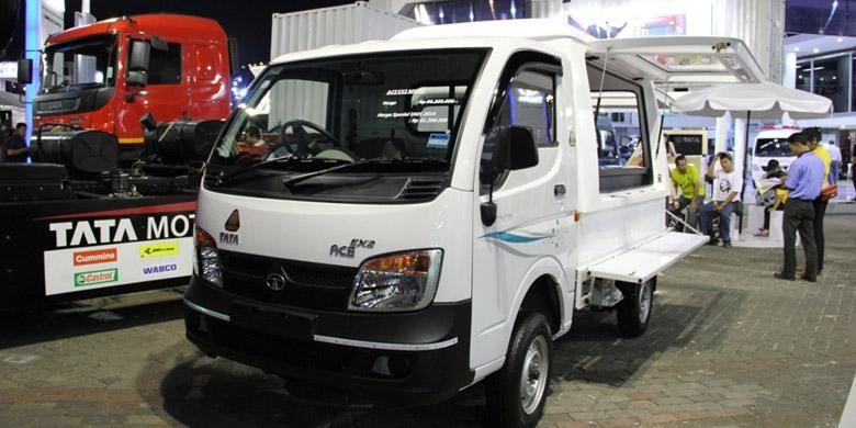 Tata Ace EX2 dengan harga murah menjadi andalan TMDI untuk pengusaha kecil menengah.