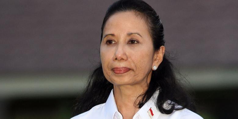 Menteri Badan Usaha Milik Negara Rini M Soemarno